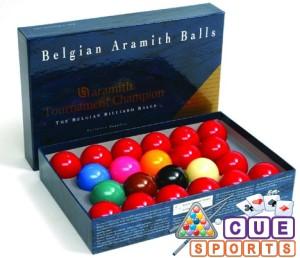 Aramith Tournament Champion Snooker Balls Perth