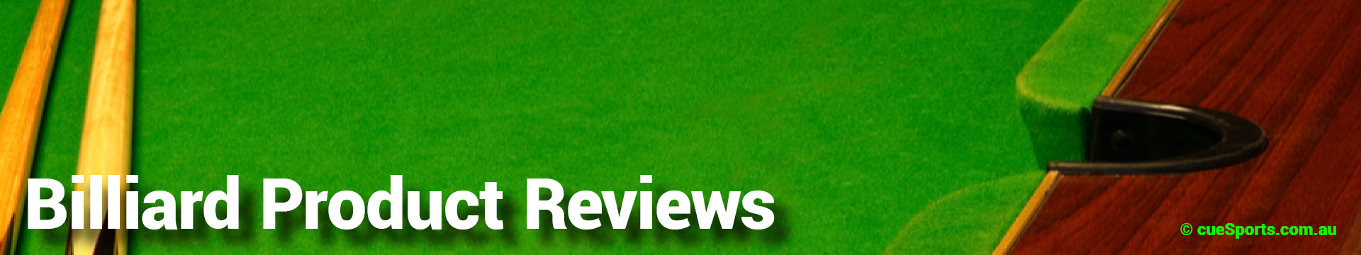 Billiard Product Reviews