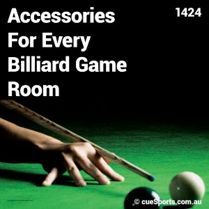 Accessories For Every Billiard Game Room