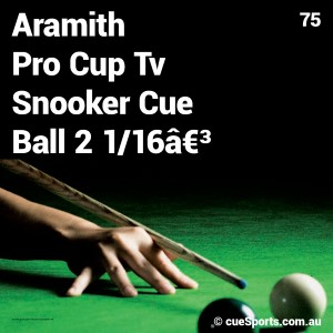 Aramith Pro Cup Tv Snooker Cue Ball 21 16