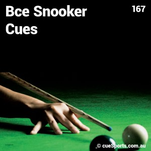 Bce Snooker Cues