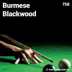 Burmese Blackwood