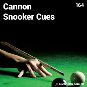 Cannon Snooker Cues