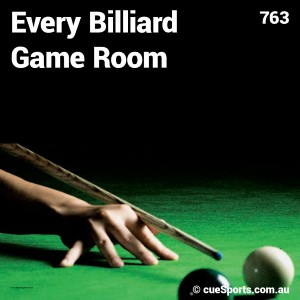 Every Billiard Game Room