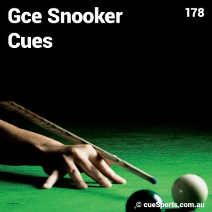 Gce Snooker Cues