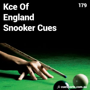 Kce Of England Snooker Cues