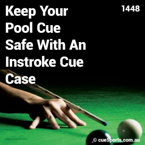 Keep Your Pool Cue Safe With An Instroke Cue Case
