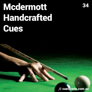 Mcdermott Handcrafted Cues
