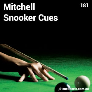 Mitchell Snooker Cues