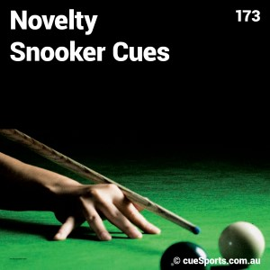Novelty Snooker Cues