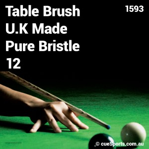 Table Brush U.k Made Pure Bristle 12