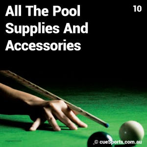 All The Pool Supplies And Accessories