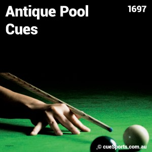 Antique Pool Cues