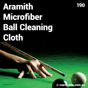 Aramith Microfiber Ball Cleaning Cloth