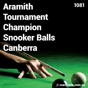 Aramith Tournament Champion Snooker Balls Canberra