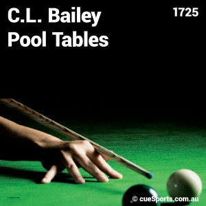 C L Bailey Pool Tables