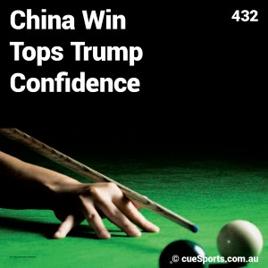 China Win Tops Trump Confidence