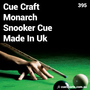 Cue Craft Monarch Snooker Cue Made In Uk
