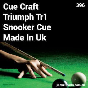 Cue Craft Triumph Tr1 Snooker Cue Made In Uk