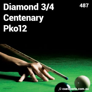 Diamond 3 4 Centenary Pko12