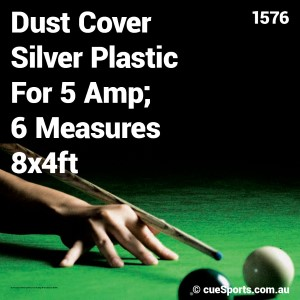 Dust Cover Silver Plastic For 5 Amp 6 Measures 8x4ft