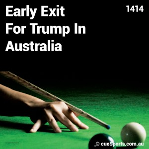 Early Exit For Trump In Australia