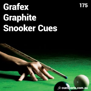Grafex Graphite Snooker Cues