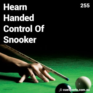 Hearn Handed Control Of Snooker