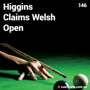 Higgins Claims Welsh Open
