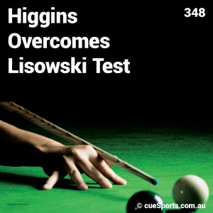 Higgins Overcomes Lisowski Test