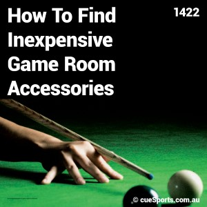 How To Find Inexpensive Game Room Accessories