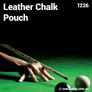 Leather Chalk Pouch