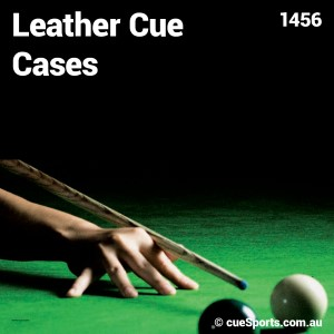 Leather Cue Cases