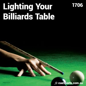 Lighting Your Billiards Table