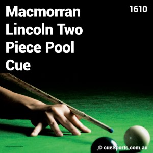 Macmorran Lincoln Two Piece Pool Cue