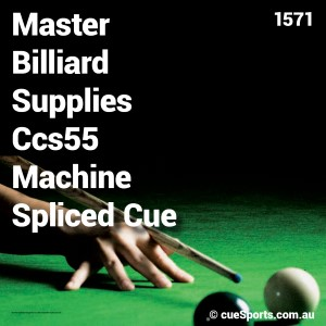 Master Billiard Supplies Ccs55 Machine Spliced Cue