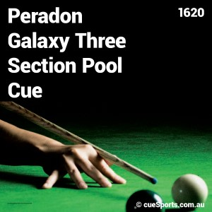 Peradon Galaxy Three Section Pool Cue