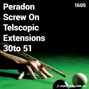 Peradon Screw On Telscopic Extensions 30to 51