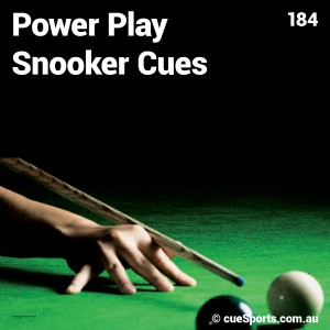 Power Play Snooker Cues