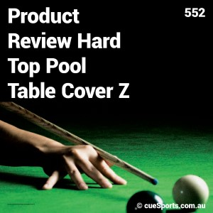 Product Review Hard Top Pool Table Cover Z