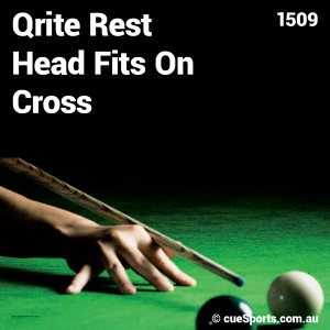 Qrite Rest Head Fits On Cross