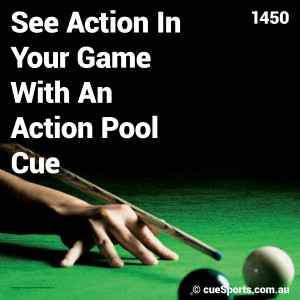 See Action In Your Game With An Action Pool Cue