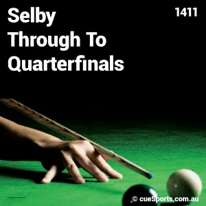 Selby Through To Quarterfinals