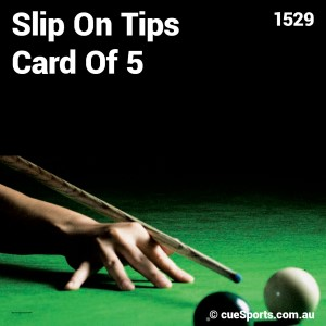 Slip On Tips Card Of 5