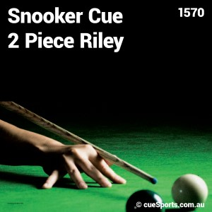 Snooker Cue 2 Piece Riley