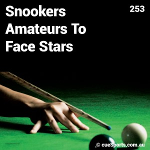 Snookers Amateurs To Face Stars