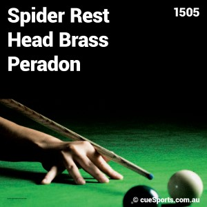 Spider Rest Head Brass Peradon