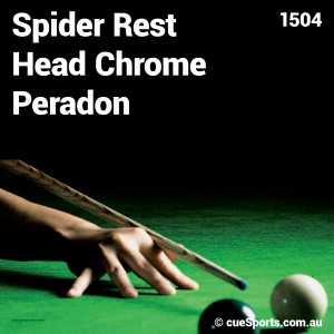 Spider Rest Head Chrome Peradon