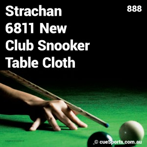 Strachan 6811 New Club Snooker Table Cloth