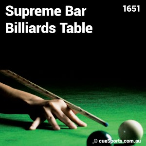 Supreme Bar Billiards Table4